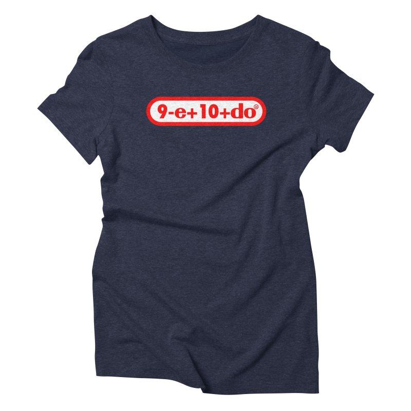 Gamer Math 2 Women's Triblend T-shirt by Hump