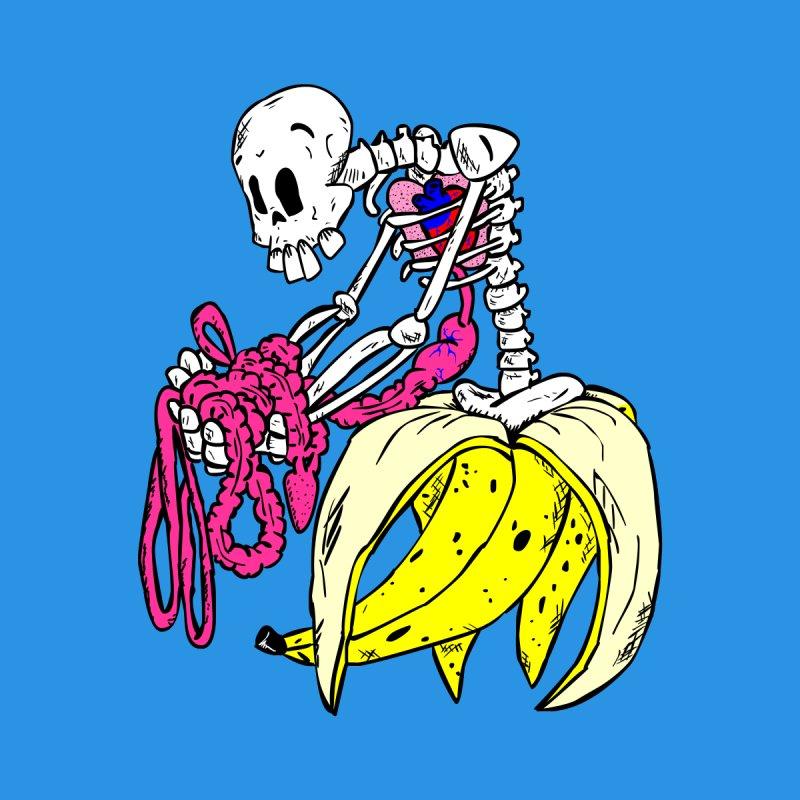 Banana Bones Men's T-Shirt by Hump
