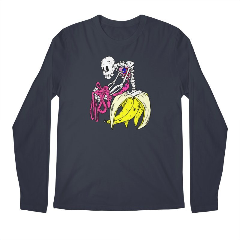 Banana Bones Men's Longsleeve T-Shirt by Hump