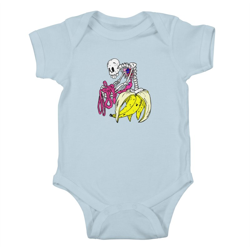 Banana Bones Kids Baby Bodysuit by Hump
