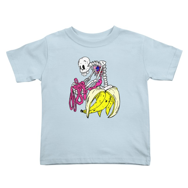 Banana Bones Kids Toddler T-Shirt by Hump