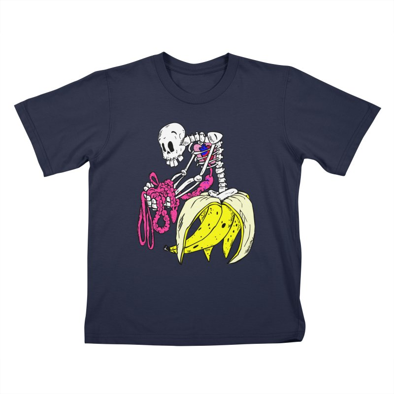 Banana Bones Kids T-shirt by Hump