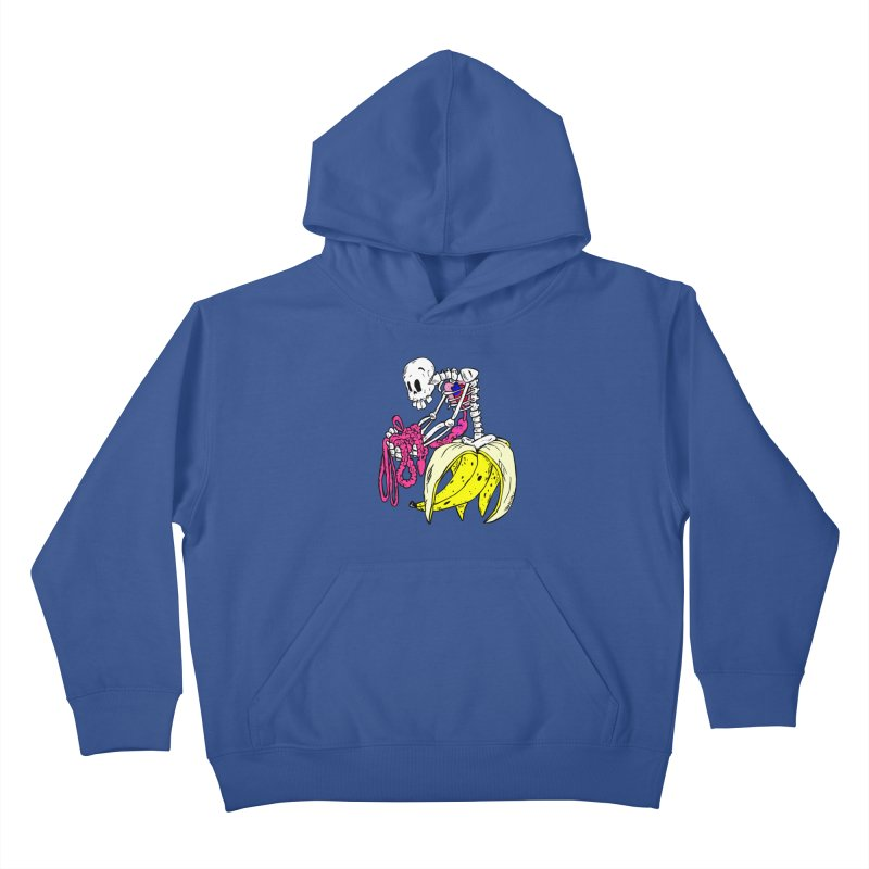 Banana Bones Kids Pullover Hoody by Hump