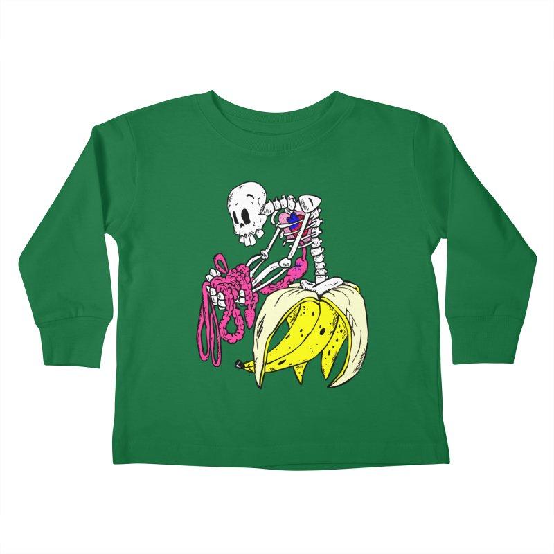 Banana Bones Kids Toddler Longsleeve T-Shirt by Hump