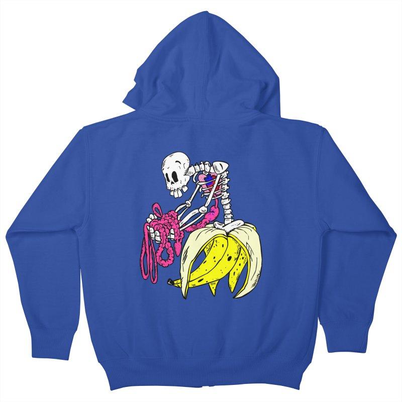 Banana Bones Kids Zip-Up Hoody by Hump