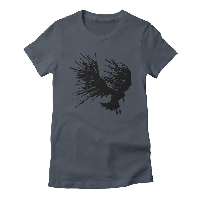 Bird Splatter Black   by Hump