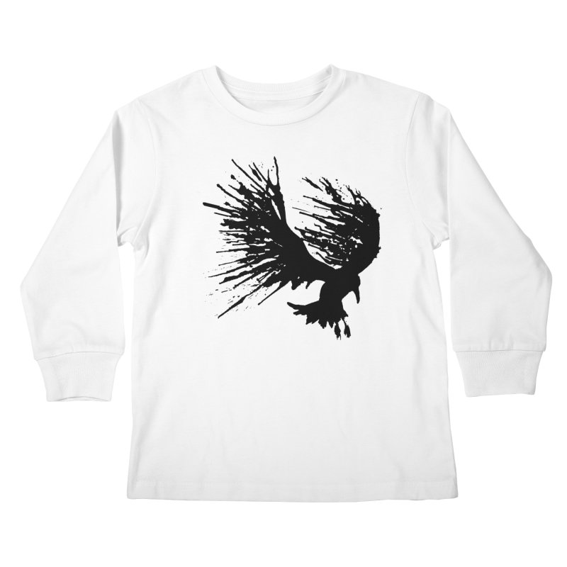 Bird Splatter Black   by Hump