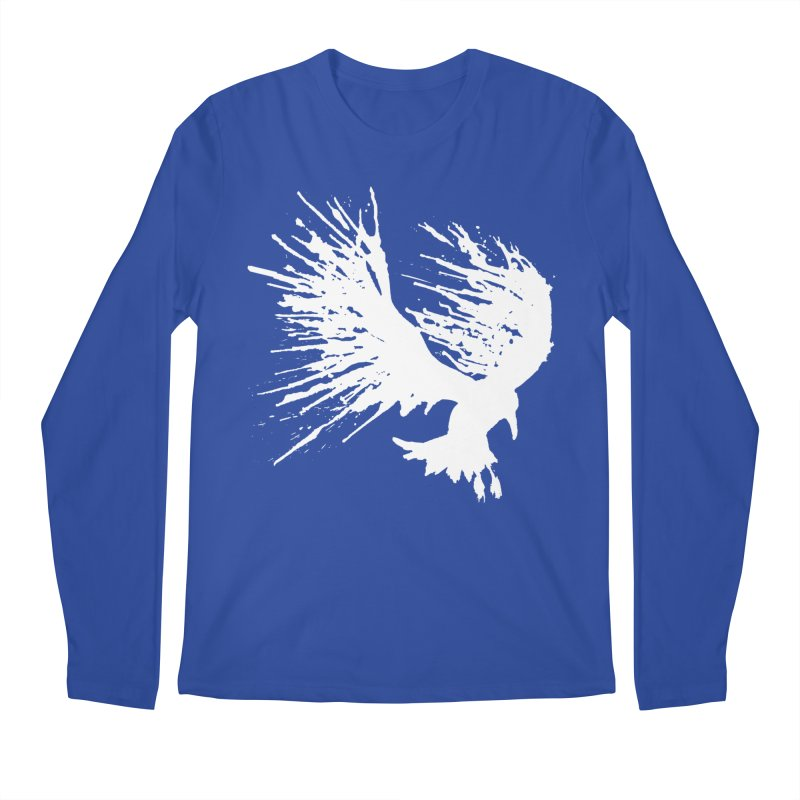 Bird Splatter White   by Hump