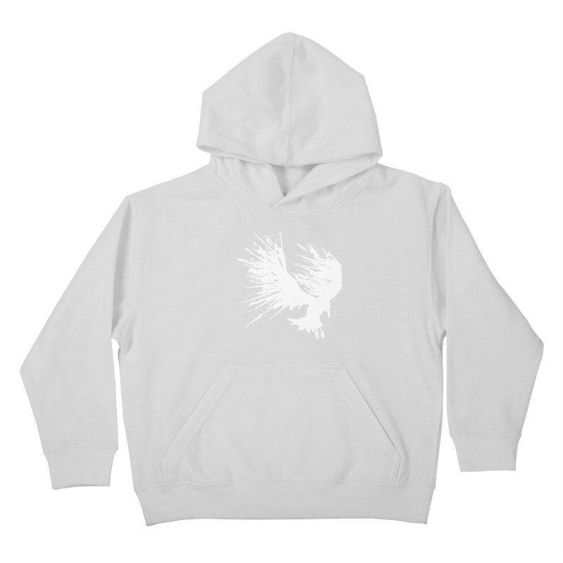 Bird Splatter White   by Hump