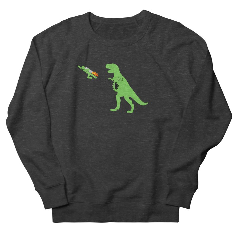Jet-Pack VS. T-Rex Women's Sweatshirt by Hump