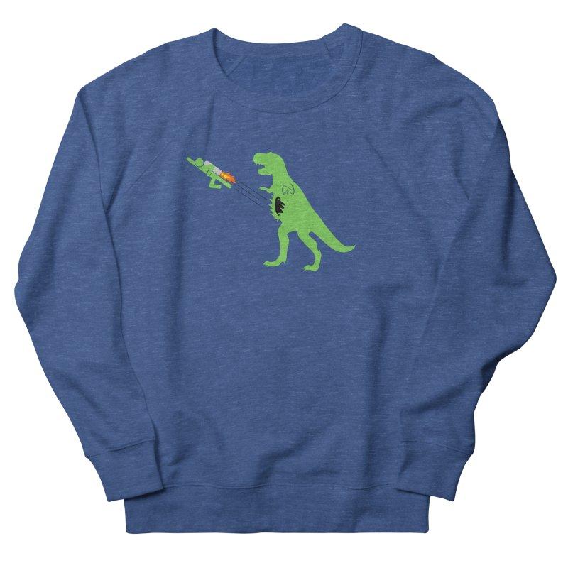 Jet-Pack VS. T-Rex Women's Sweatshirt by Hump