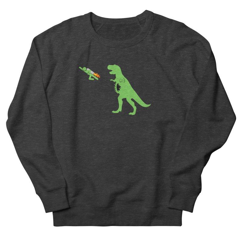 Jet-Pack VS. T-Rex Men's Sweatshirt by Hump