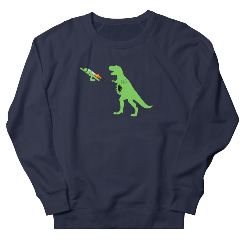 Jet-Pack VS. T-Rex Men's Sweatshirt by Hump