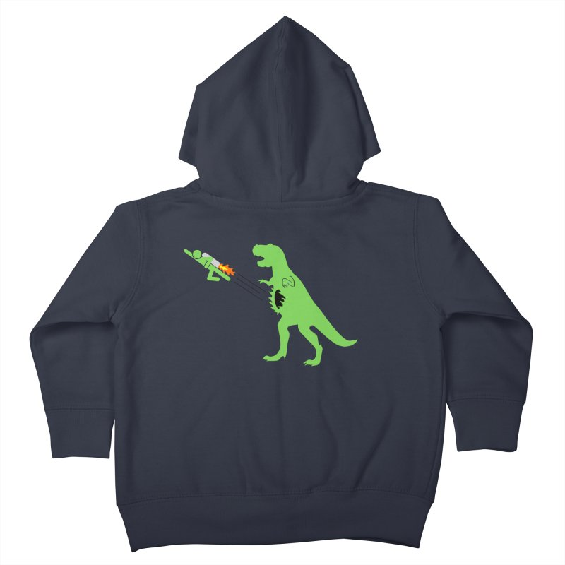 Jet-Pack VS. T-Rex Kids Toddler Zip-Up Hoody by Hump
