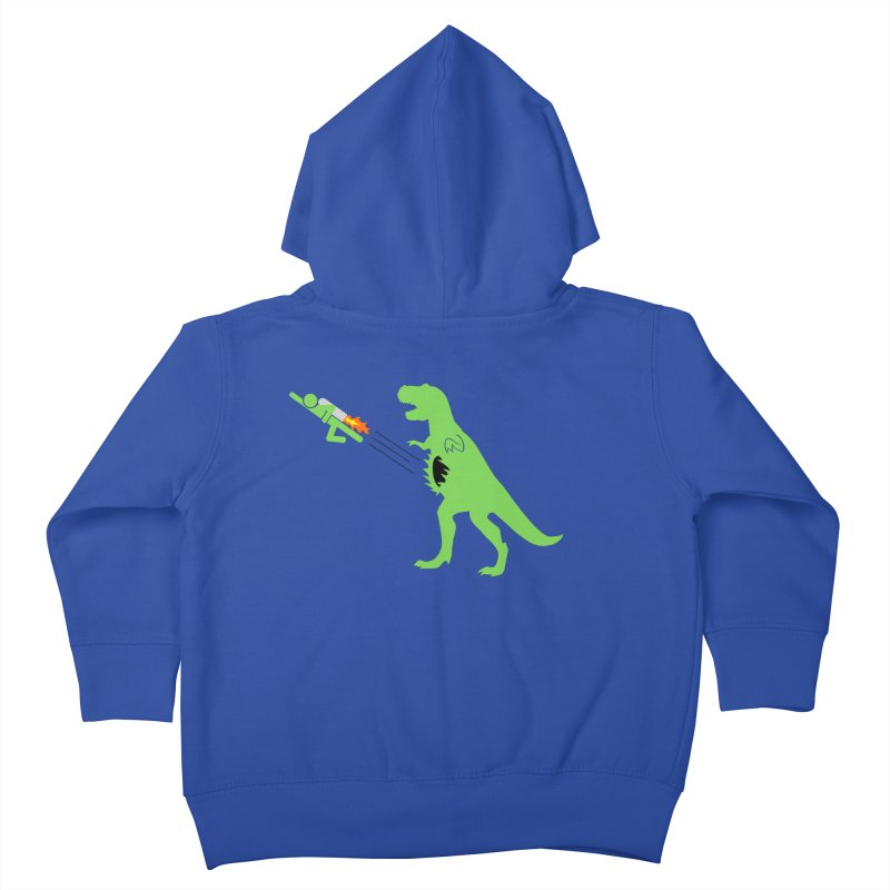 Jet-Pack VS. T-Rex Kids Toddler Zip-Up Hoody by Hump