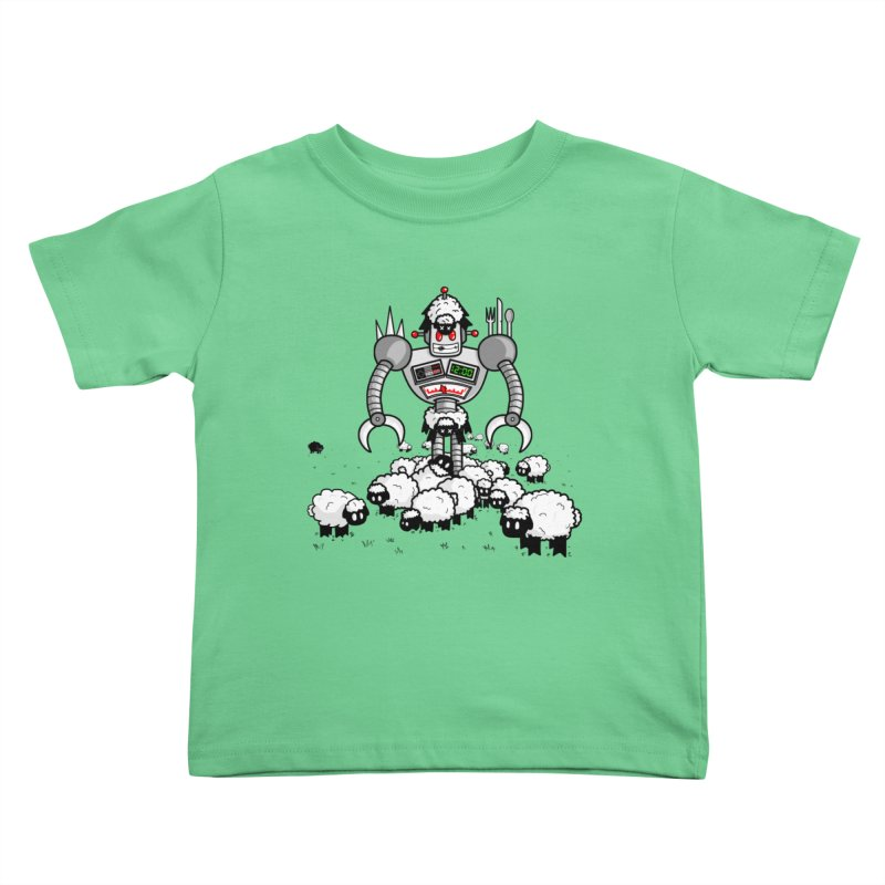 Robot in Sheep's Clothing Kids Toddler T-Shirt by Hump