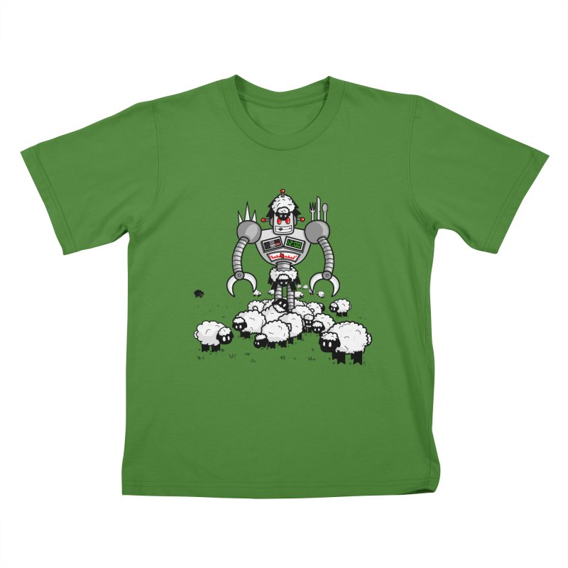 Robot in Sheep's Clothing Kids T-Shirt by Hump