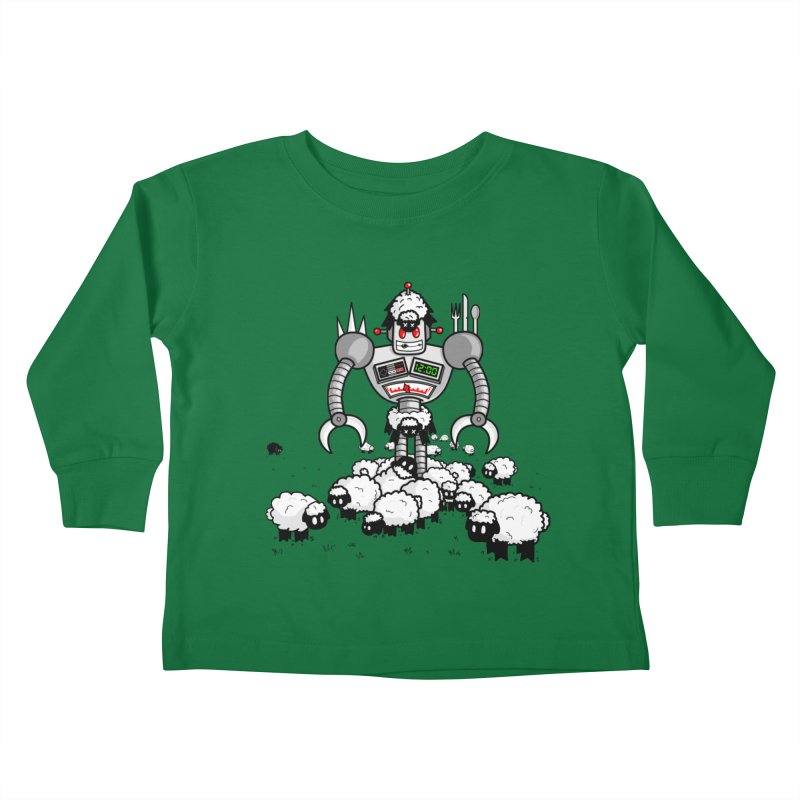 Robot in Sheep's Clothing Kids Toddler Longsleeve T-Shirt by Hump