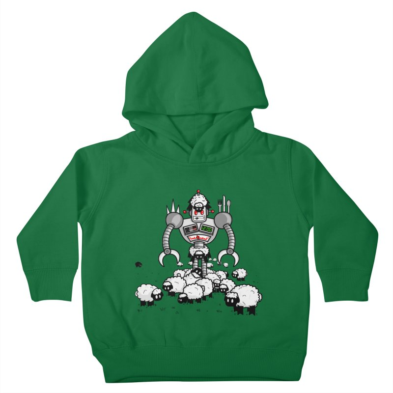 Robot in Sheep's Clothing Kids Toddler Pullover Hoody by Hump