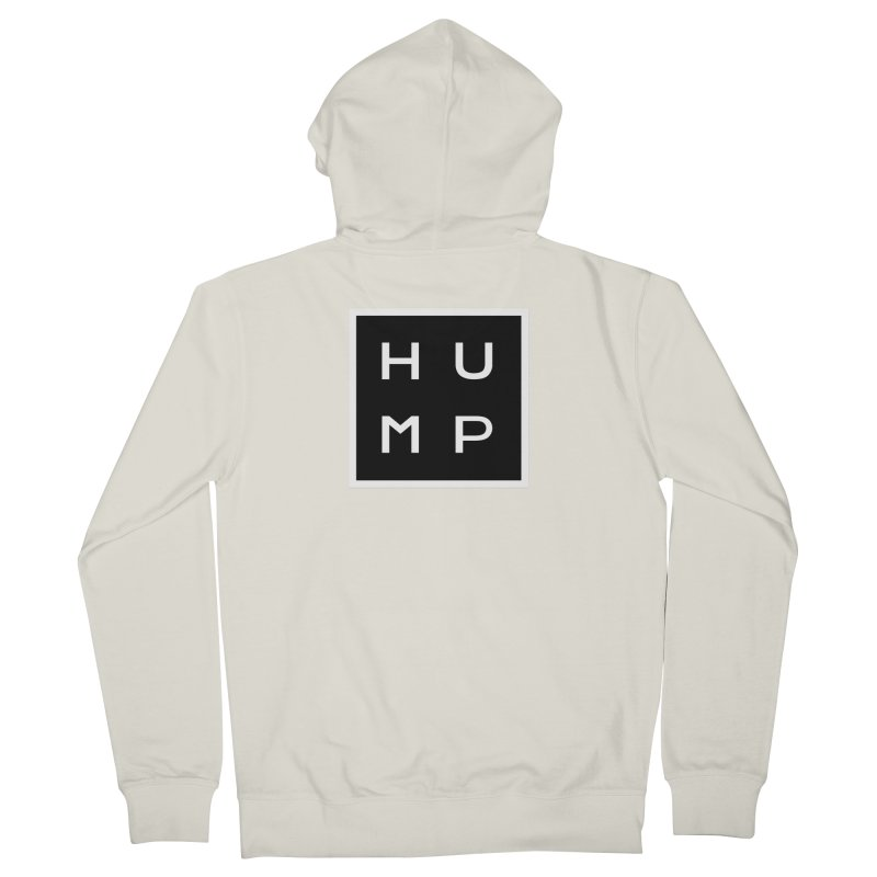 Box of Hump  Men's Zip-Up Hoody by Hump