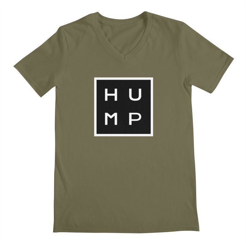Box of Hump  Men's V-Neck by Hump