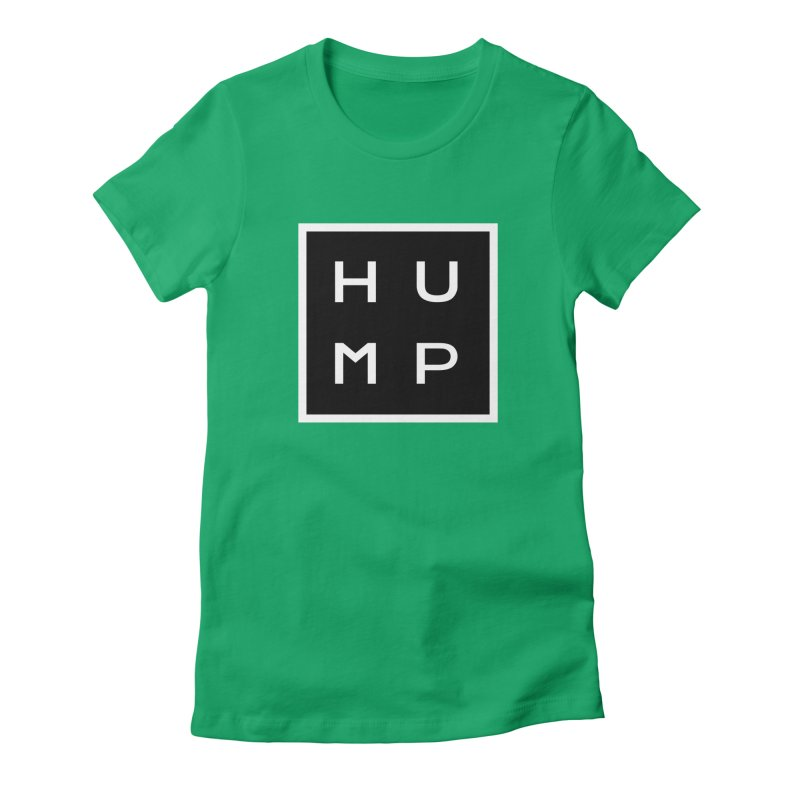 Box of Hump  Women's Fitted T-Shirt by Hump