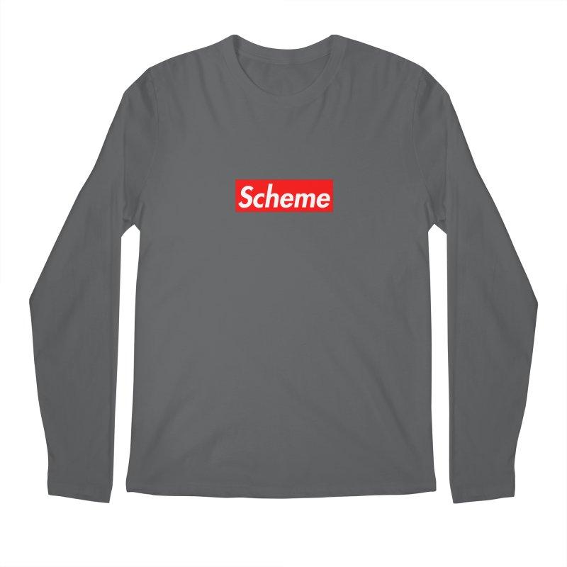 Scheme Men's Longsleeve T-Shirt by Hump