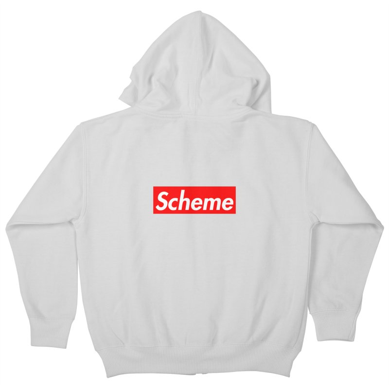 Scheme Kids Zip-Up Hoody by Hump