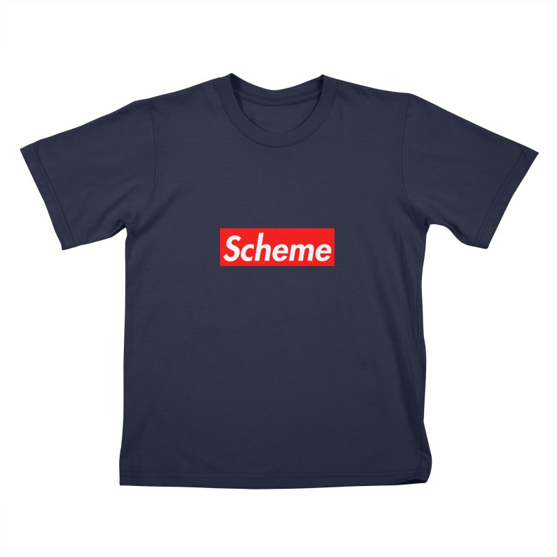 Scheme Kids T-Shirt by Hump