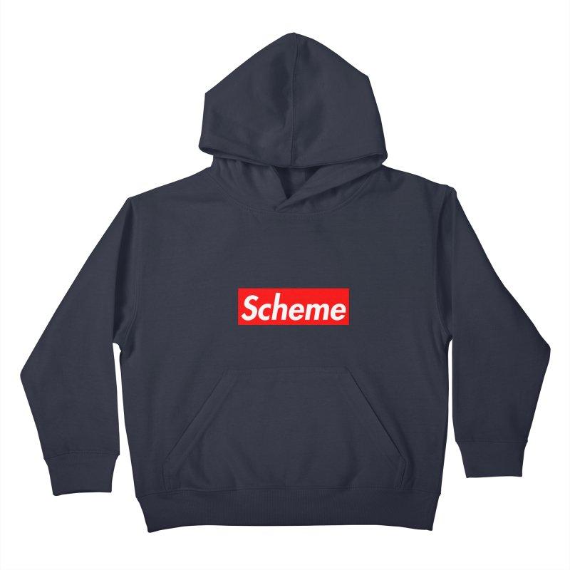 Scheme Kids Pullover Hoody by Hump