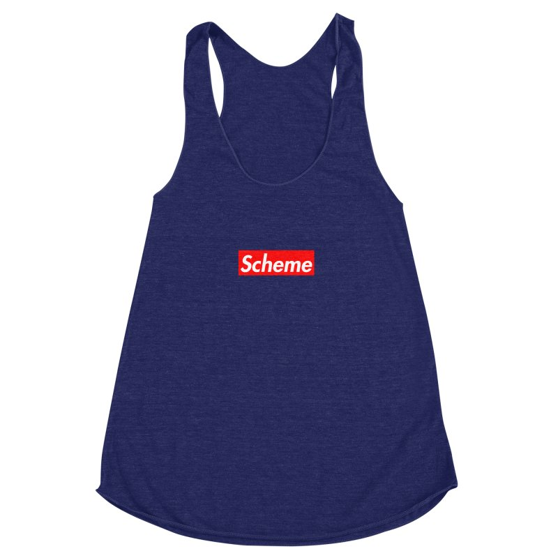 Scheme Women's Racerback Triblend Tank by Hump