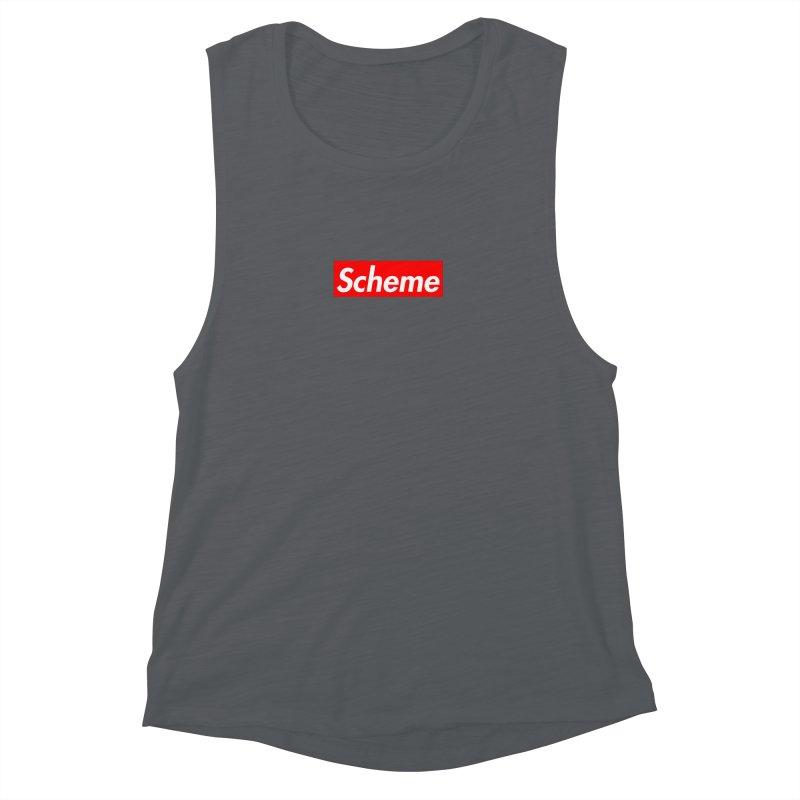 Scheme Women's Muscle Tank by Hump
