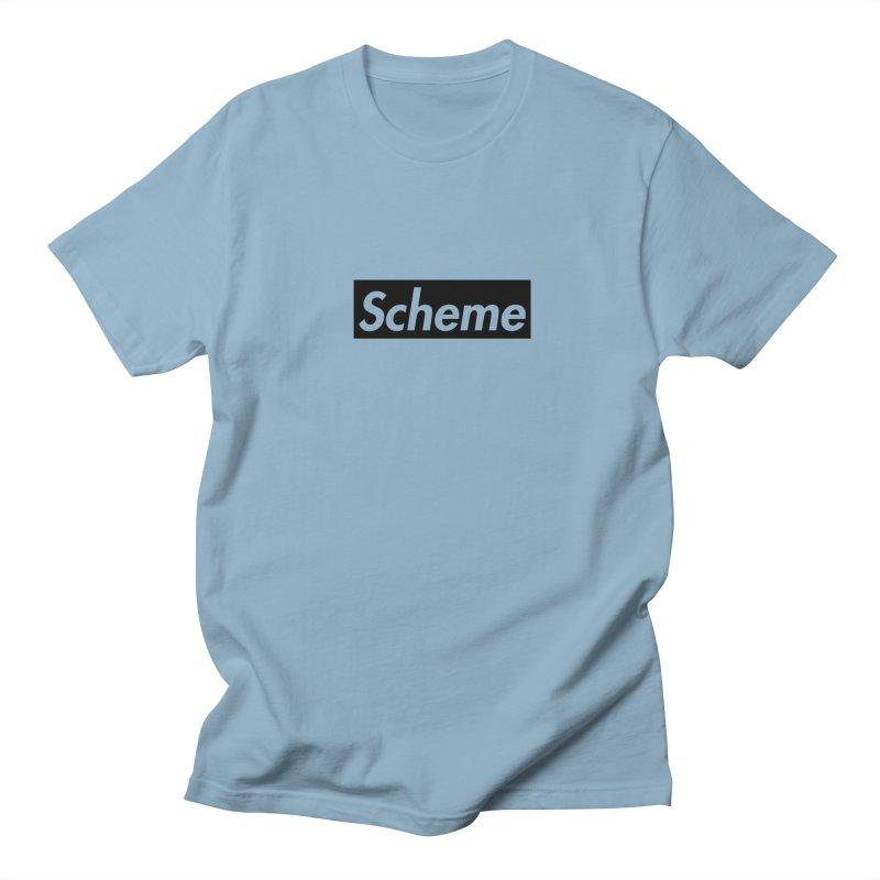 Scheme black Men's T-Shirt by Hump
