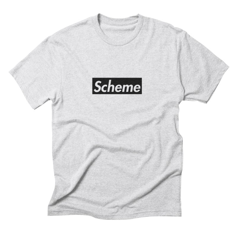 Scheme black Men's Triblend T-Shirt by Hump