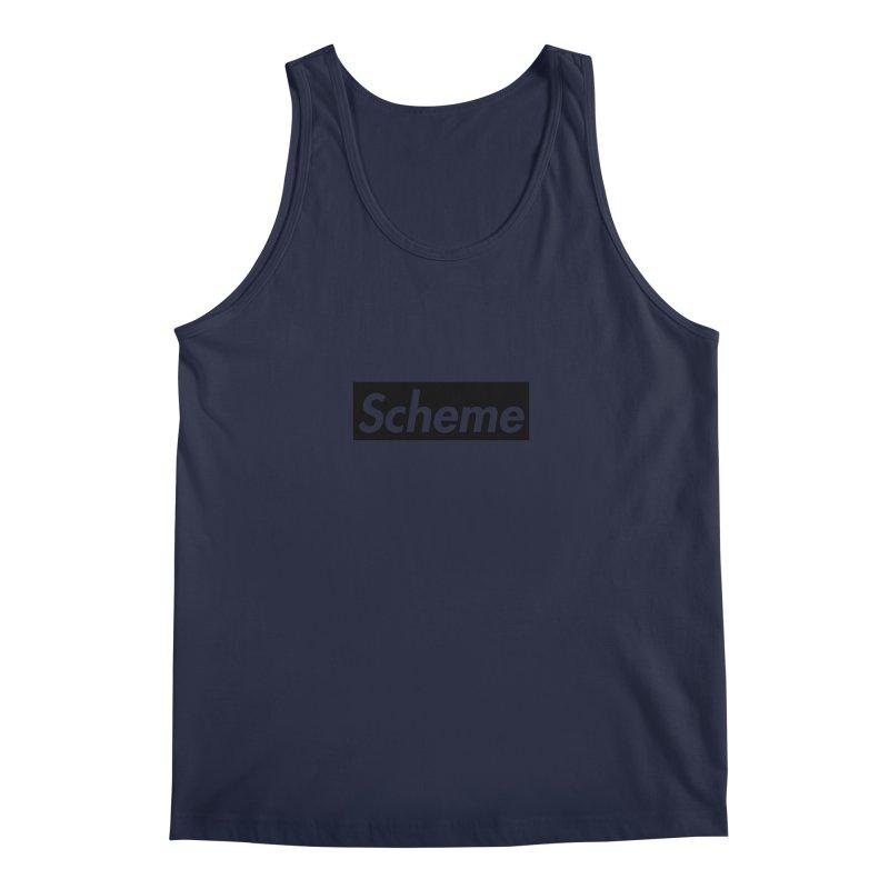 Scheme black Men's Tank by Hump