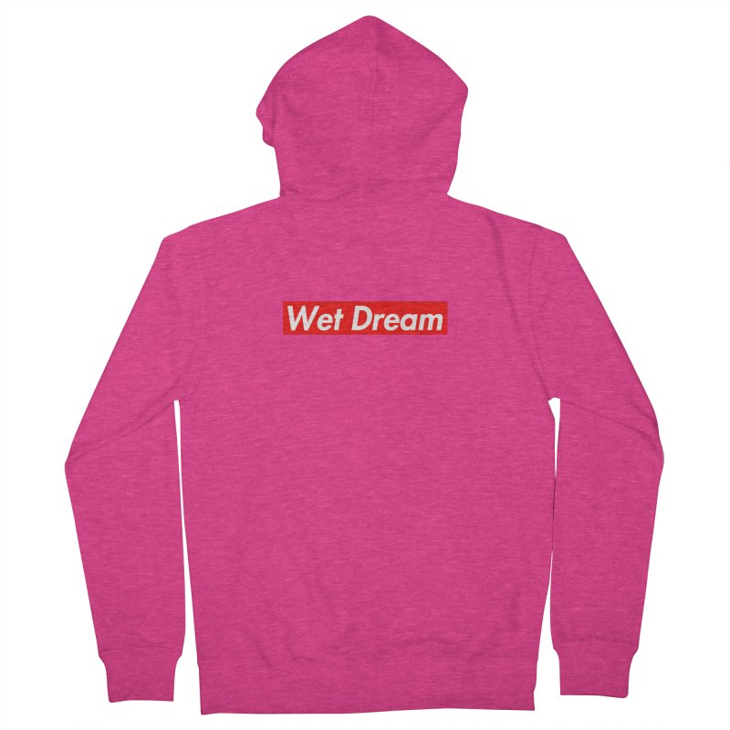 Wet Dream red Women's Zip-Up Hoody by Hump