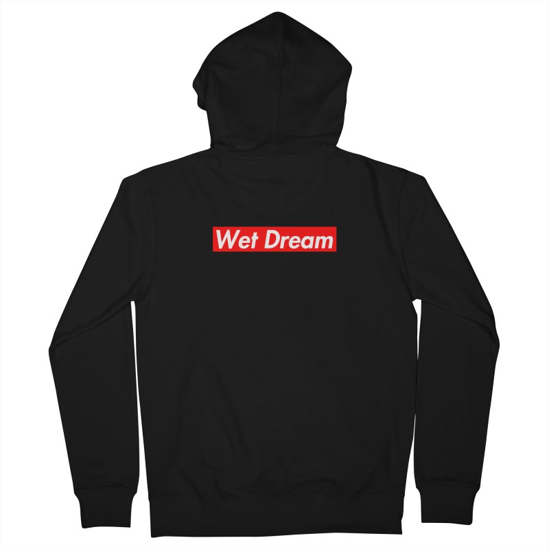 Wet Dream red Women's Zip-Up Hoody by Hump