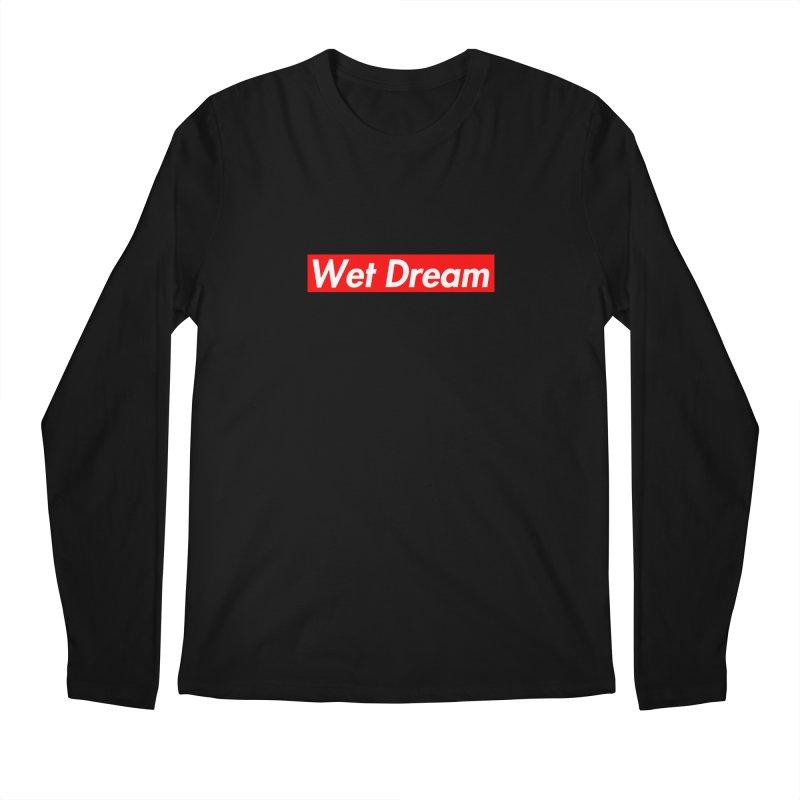 Wet Dream red Men's Longsleeve T-Shirt by Hump