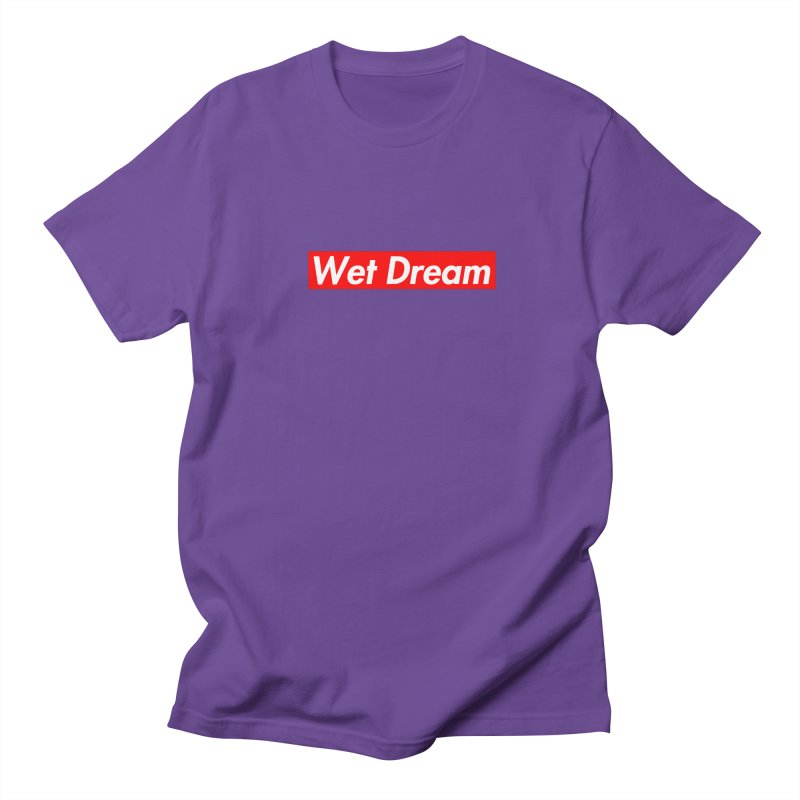 Wet Dream red Men's T-Shirt by Hump