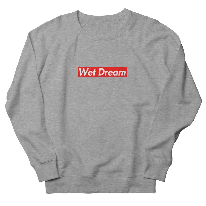 Wet Dream red Men's Sweatshirt by Hump