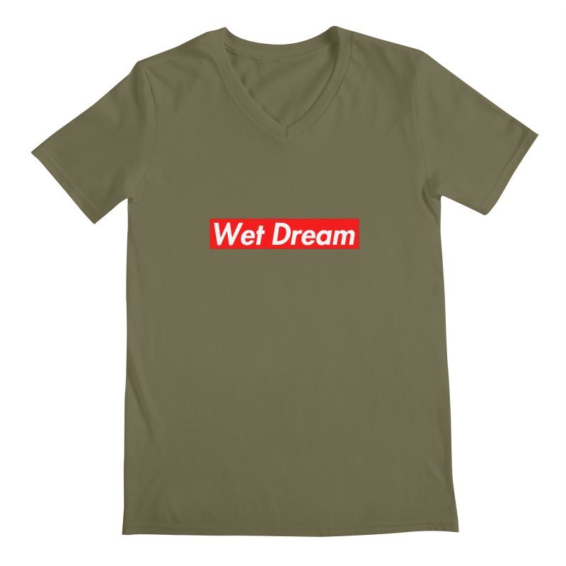 Wet Dream red Men's V-Neck by Hump
