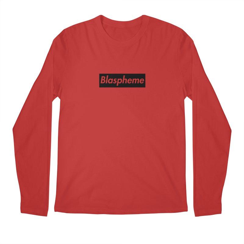 Blaspheme black Men's Longsleeve T-Shirt by Hump