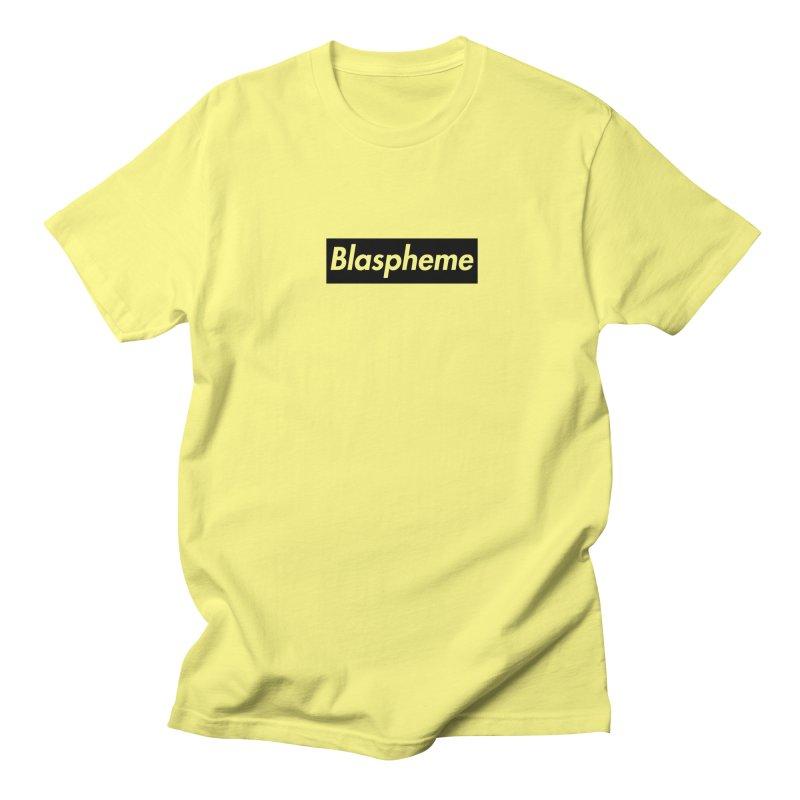Blaspheme black Men's T-Shirt by Hump