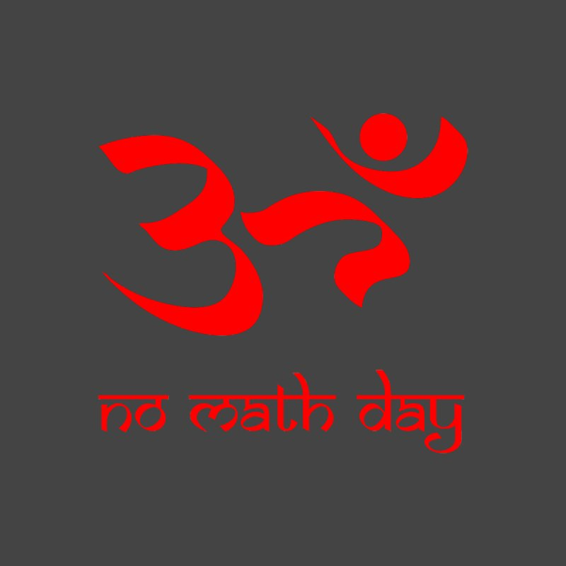 No Math Day (red) by Hump