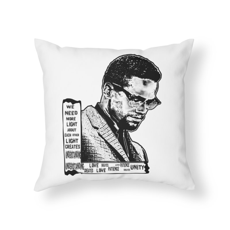 BHM-X Home Throw Pillow by HUNDRED
