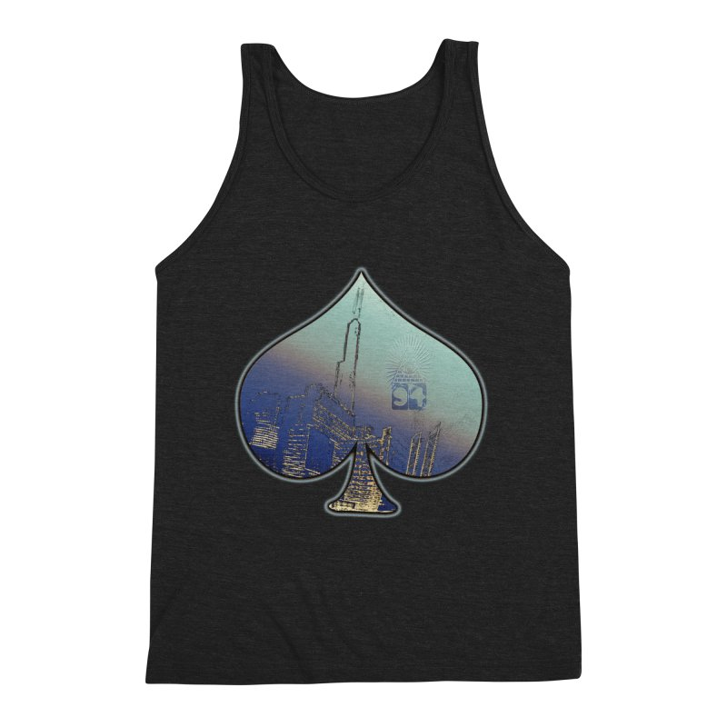 CHI FROM EYE94 Men's Triblend Tank by HUNDRED