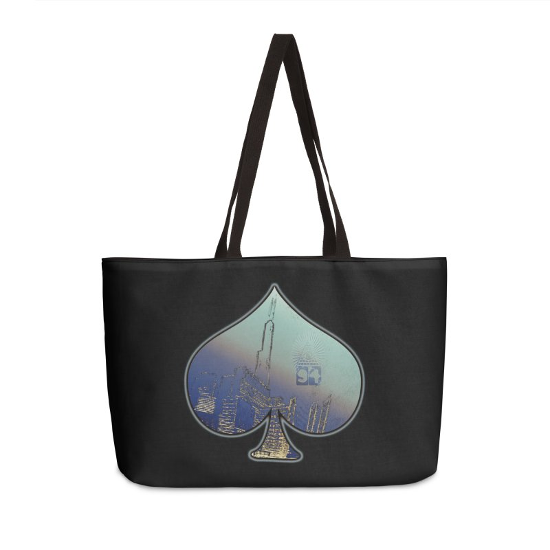 CHI FROM EYE94 Accessories Weekender Bag Bag by HUNDRED