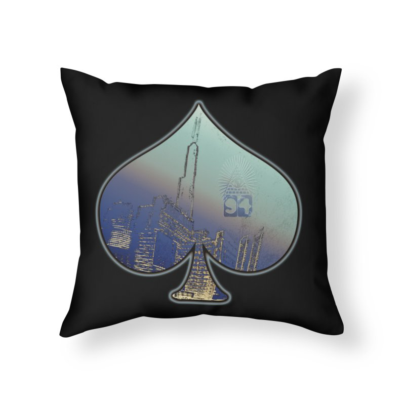 CHI FROM EYE94 Home Throw Pillow by HUNDRED
