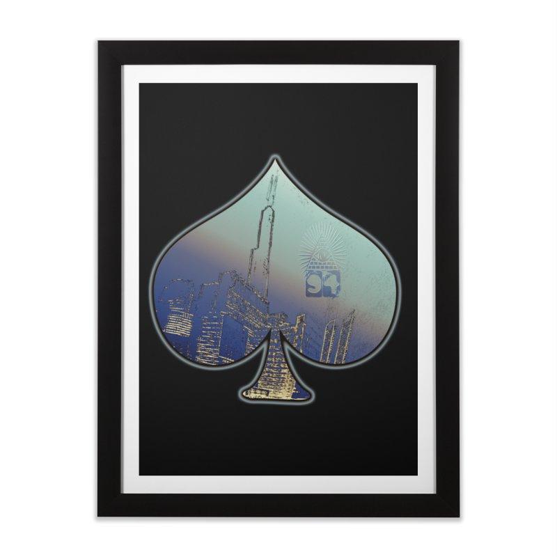CHI FROM EYE94 Home Framed Fine Art Print by HUNDRED