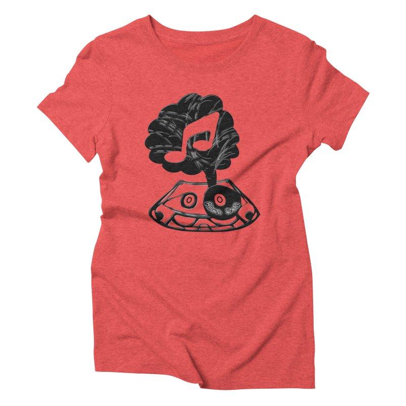 Rich Soil Women's Triblend T-Shirt by HUNDRED